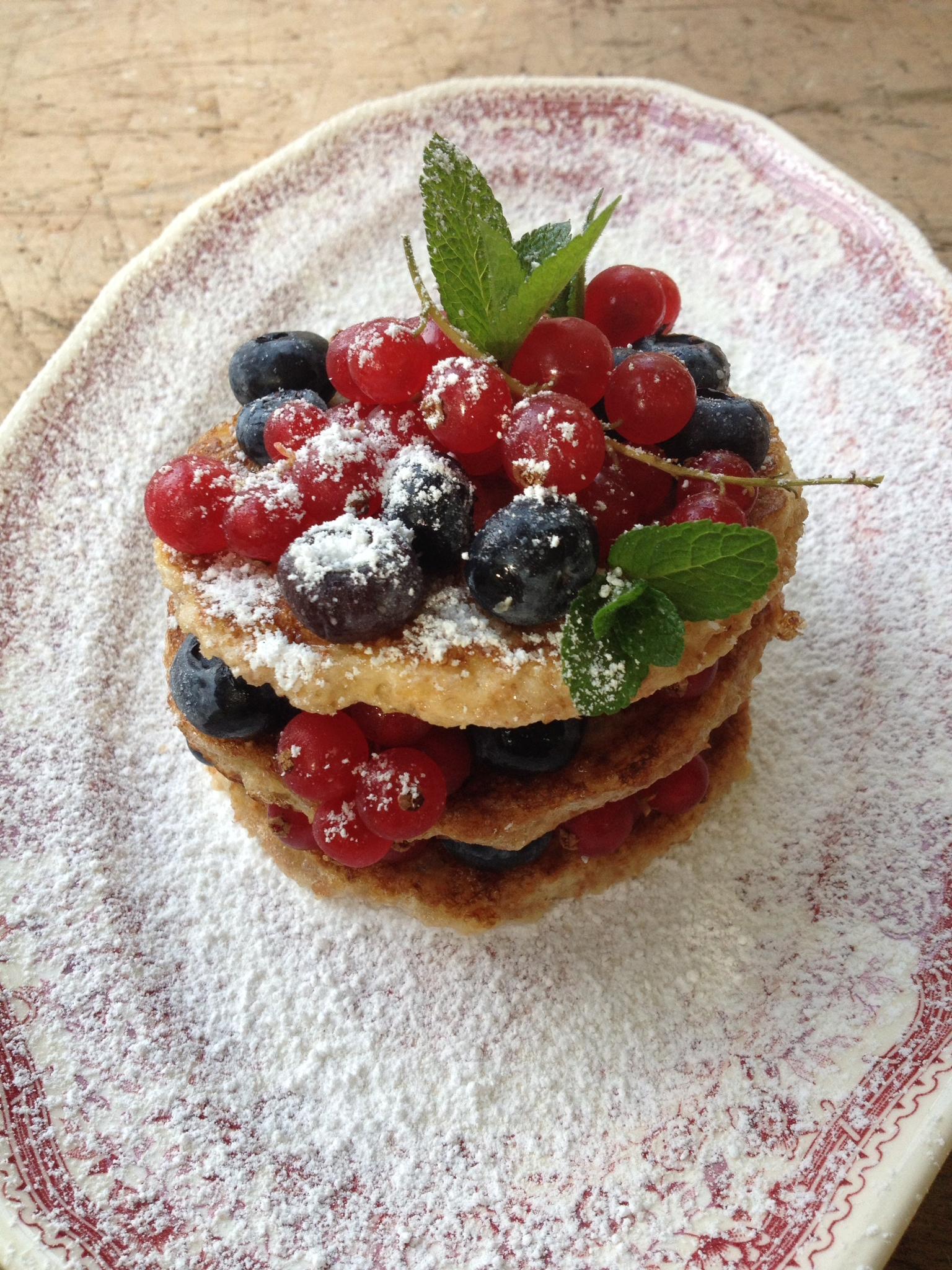 Zalig Kerstfeest met fruitige American pancakes