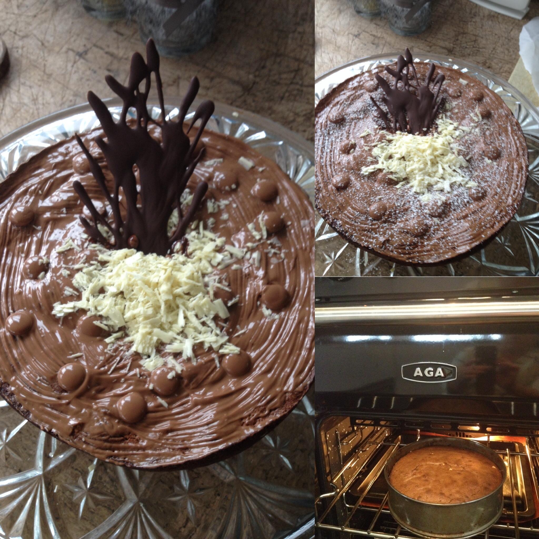 Ook gek op chocolade? Bak dan snel deze overheerlijk chocoladetaart !