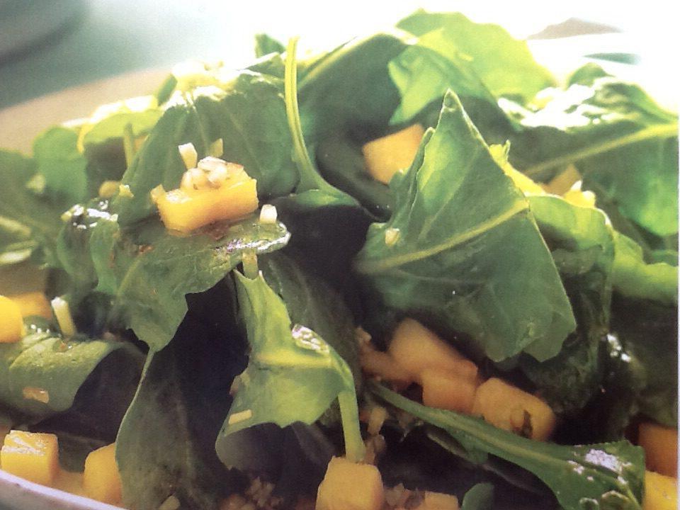Rucola-mango salade